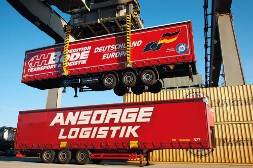 Toutes les unités intermodales sont acceptées (photo Kombiverkehr KG)