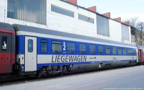 Photo d'illustration : déjà en 2002, le modernisme autrichien avec cette nouvelle voiture-couchettes. De nouveaux modèles seront commandés (via Wikipedia)