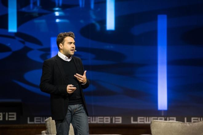 Frédéric Mazzella, le co-fondateur de Blablacar ( photo de Official Leweb Photo via flickr CC BY 2.0)