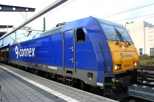 Une des Traxx BR146 en kivrée Connex ( ph wolfro5 via Flickr)