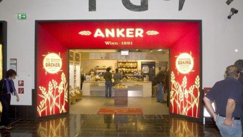 La boulangerie Ankerbrod présente en gare de Vienne et de Salzbourg