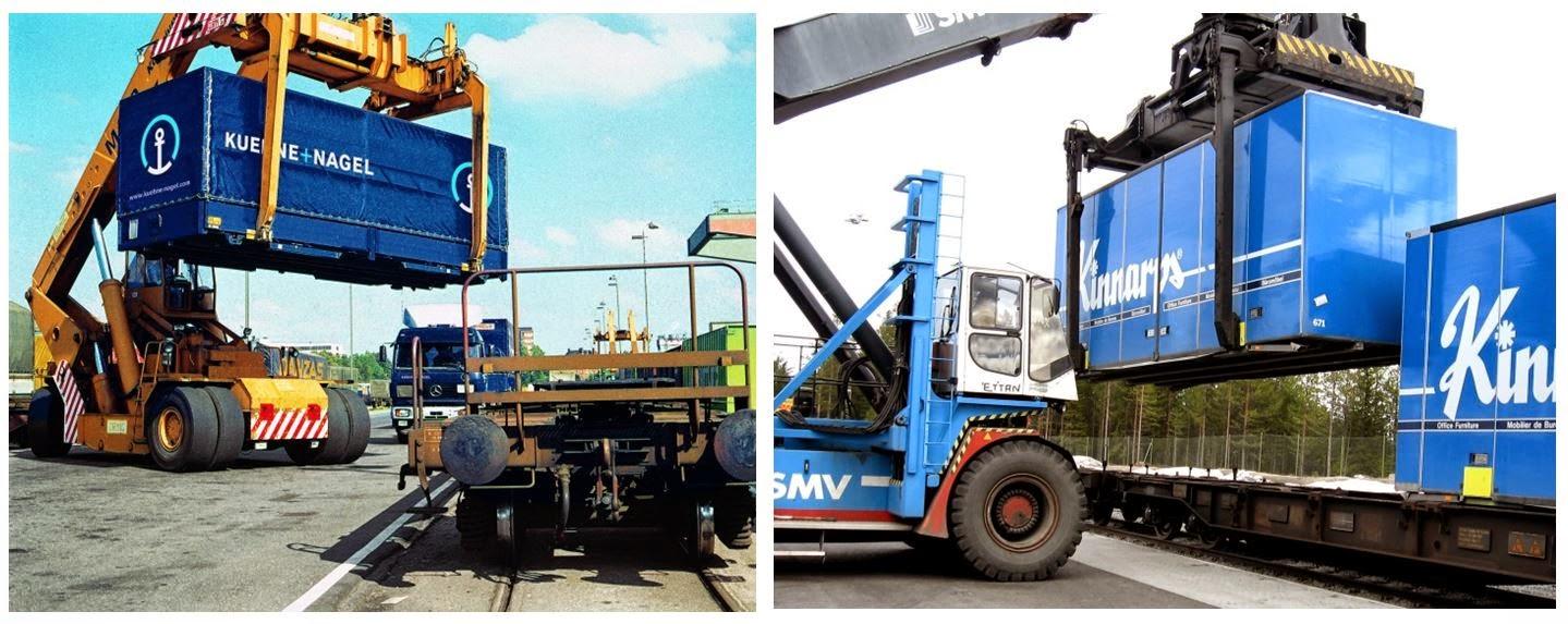 Container Semi Remorques Caisses Mobiles Ferroutage Ne Pas