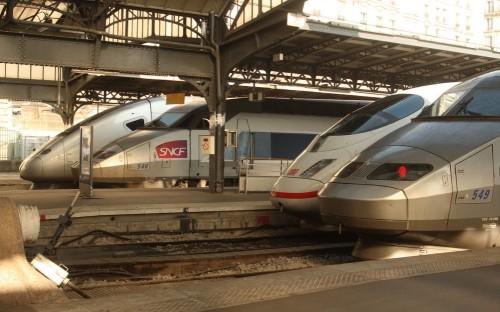 Venir et vite repartir : l'atout majeur du TGV (photo Matthew Black)