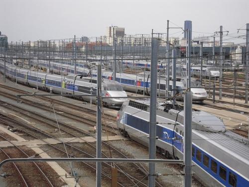 La France à l'époque de l'expansion du TGV (photo cc flickr Marsupilami92)