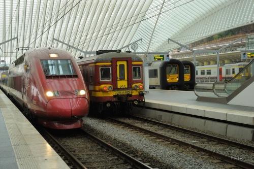 Liège : une belle gare, le TGV mais peu d'atouts (photo stef_dit_pat)