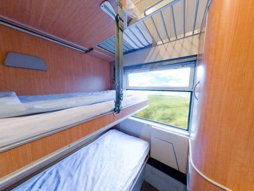 Cabine T3 à trois lits de Thello