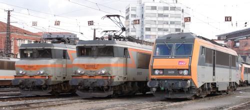 Le parc moteur SNCF s'identifie, depuis toujours, à Alstom-Belfort (photo wikipedia)