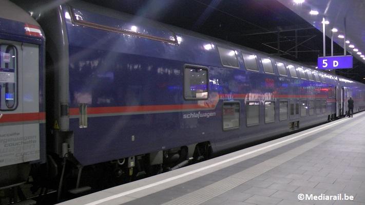 Les trains de nuit envidéo