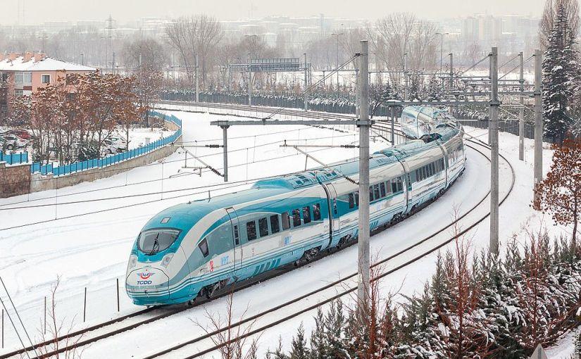 Appel d'offre pour 96 trains V250 enTurquie