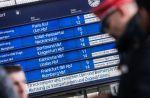 Wintereinbruch in Süddeutschland - Verspätungen der Bahn