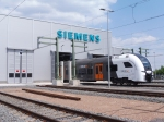 Siemens nimmt RRX-Instandhaltungswerk offiziell in Betrieb / Siemens officially opens RRX maintenance depot