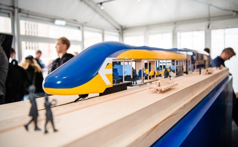 De nouveaux espaces pour les futurs trains enHollande