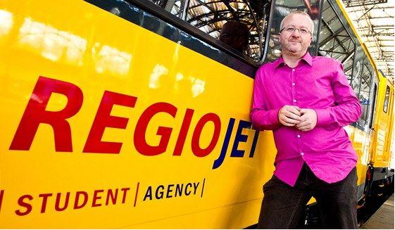 Regiojet, the czech growing private railway company