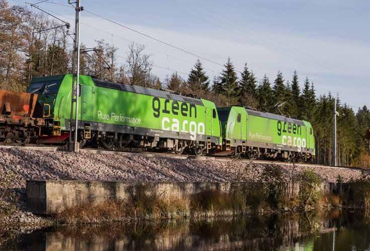 Green Cargo, le fret suédois en modeécologique