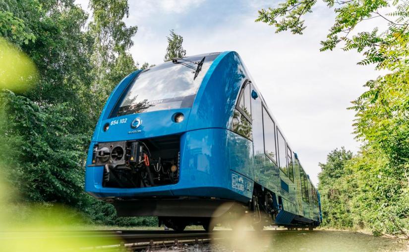 Quand une région imprime sa politique écologique avec 27 trains àhydrogène