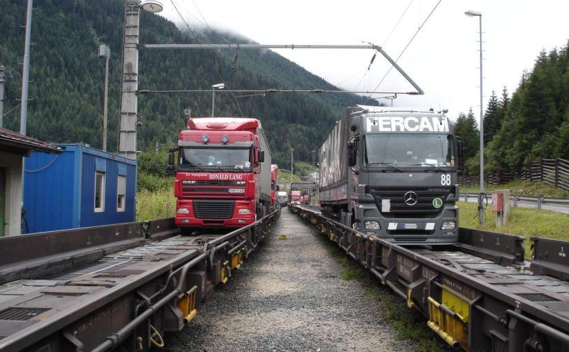 Tyrol : 20% des camions prendront le train en2021
