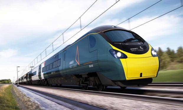 Avanti, le nouveau nom des trains de la Côte Ouest qui remplaceVirgin