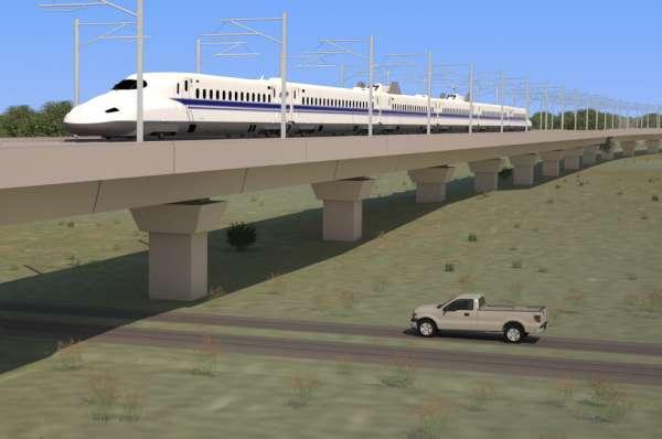 Le TGV texan, un projet qui avancebien
