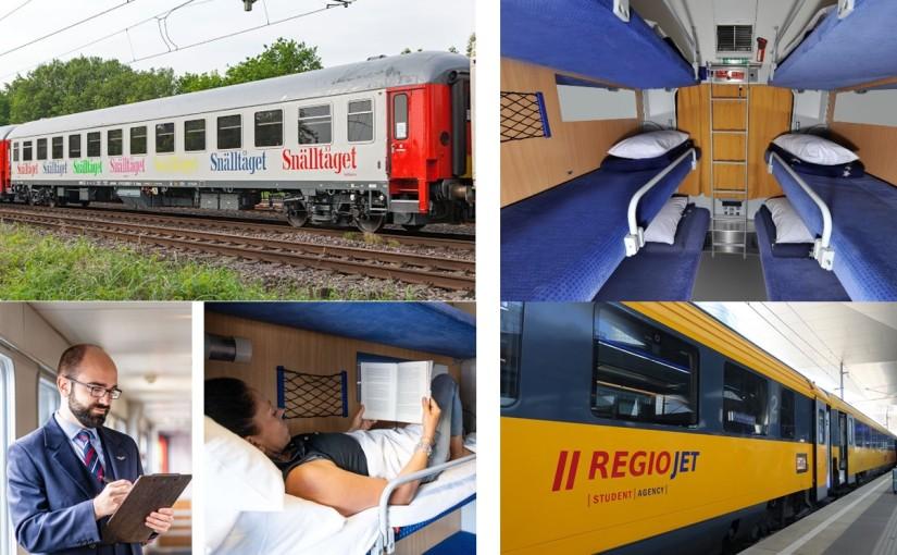 Trains de nuit : l'offensive de trois opérateursalternatifs