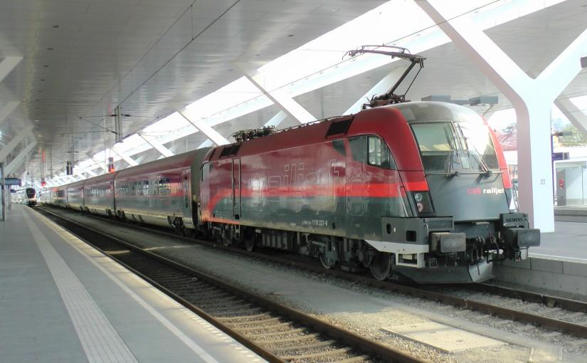 Austrian Airlines fera ses Vienne – Salzbourg entrain