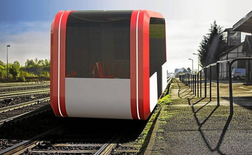 Taxirail, le train autonome à lademande