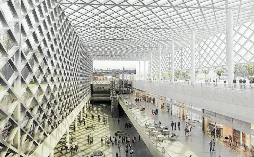 Barcelone : la nouvelle gare de Sagrera et un parc de quatrekilomètres