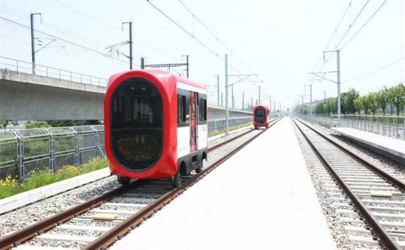 La Corée réussit un test de train autonome avec la5G