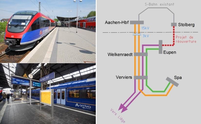 Et si Spa faisait partie du S-Bahn d'Aix-la-Chapelle ?