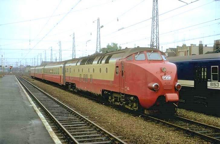 Les rames TEE diesel RAm hollando-suisses