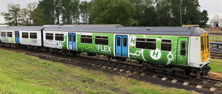 Hydrogen-railways