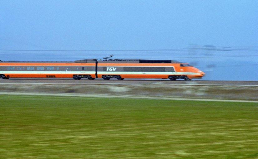 Il y a 40 ans : l'opération TGV100