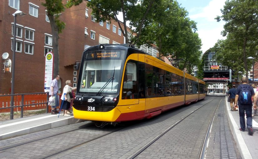 Nouveau test de tram cargo àKarlsruhe